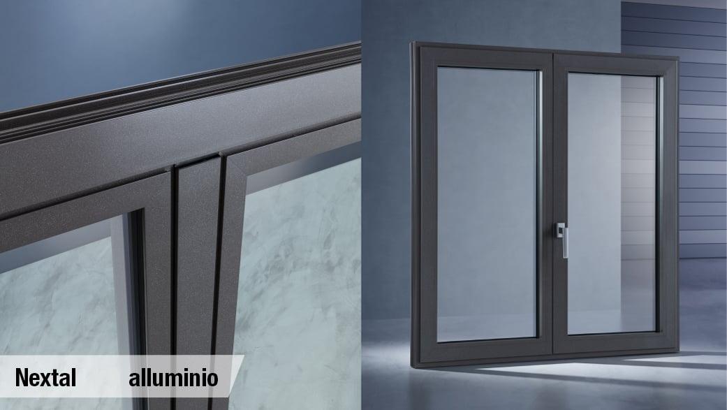 scorrevole parallelo in alluminio anche per grandi dimensioni